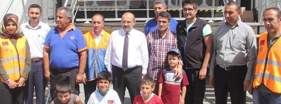 Afad Deprem Simülasyon Tırı Bitlis'te