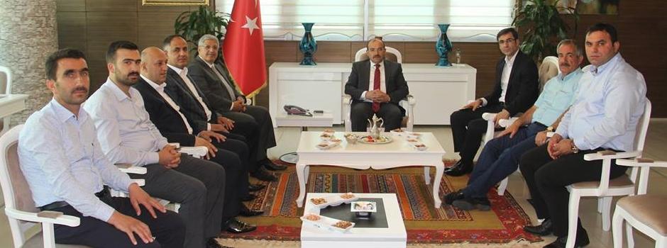 Bitlis Milletvekili Vedat Demiröz'den Vali Ustaoğlu'na Ziyaret