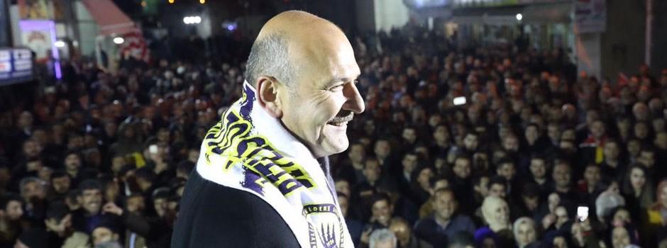 İçişleri Bakanı Süleyman Soylu Bitlis'te