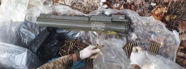 Mutki'de 117 mermi ve lav silahı bulundu